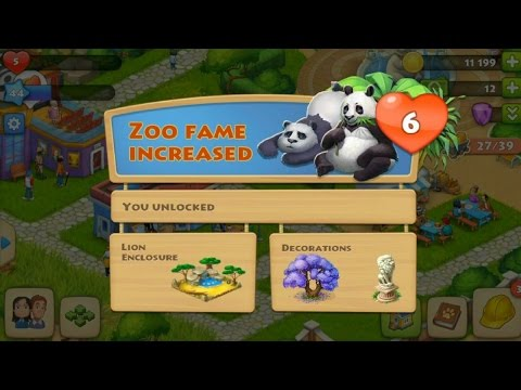 Township level 44 - Level 6 of the zoo