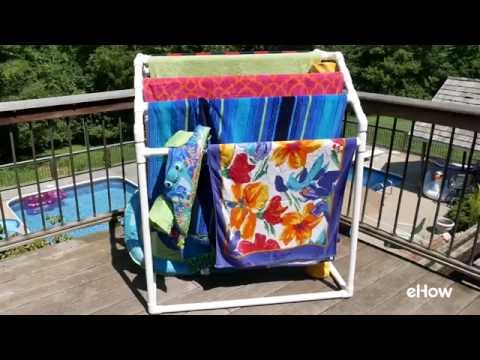 How to Build a Towel Drying Rack With PVC Pipe