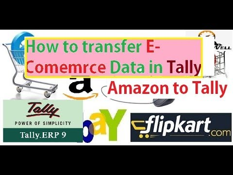 Excel to Tally - Amazon Selling Data Import