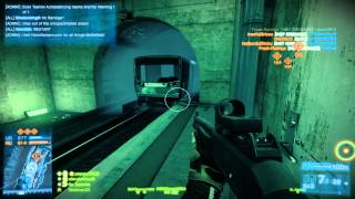 Battlefield 3 Metro Game Play. Shadowplay Test on nVidia GTX 760