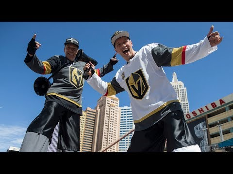 Knights fans gear up for Game 5 at Toshiba Plaza