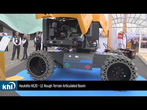 Intermat 2018: Haulotte launches Into Electric