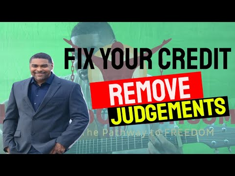 How I Removed Tax Liens, Child Support, Charge Offs, Judgements! Recent Proof Viedo