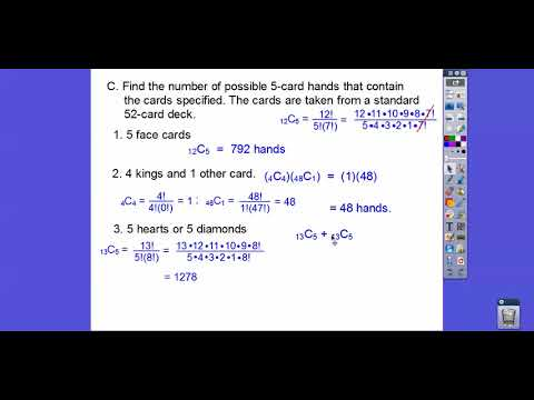 Combinations and Probability - Module 21.3 (a)