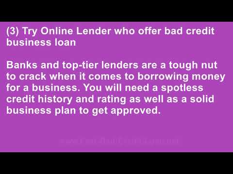 Can I Get a Business Loan With No Assets and Bad Credit?