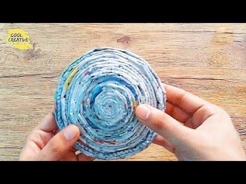 EASY Newspaper crafts - How to make newspaper bowl - art and craft | cool and creative