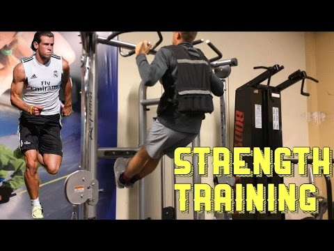 How a Pro Footballer/Soccer Player Builds Strength