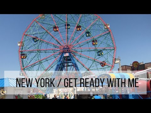 VOLG 7 / NEW YORK / GRWM / CONEY ISLAND
