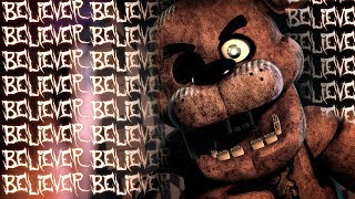 Sfm Fnaf Believer  Fnaf Animation Of The Imagine Dragons Song