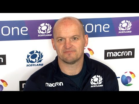Gregor Townsend Pre-Match Press Conference - Scotland v France - Six Nations