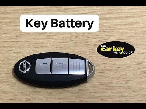 Key Battery Nissan Key fob HOW TO