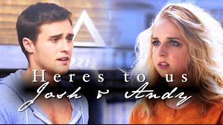 Josh & Andie | Heres to us.