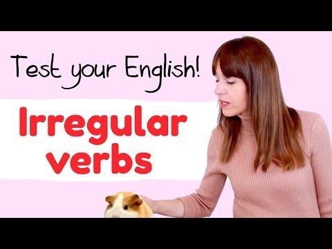 ¿Te sabes los verbos irregulares? 😳 Examen de inglés
