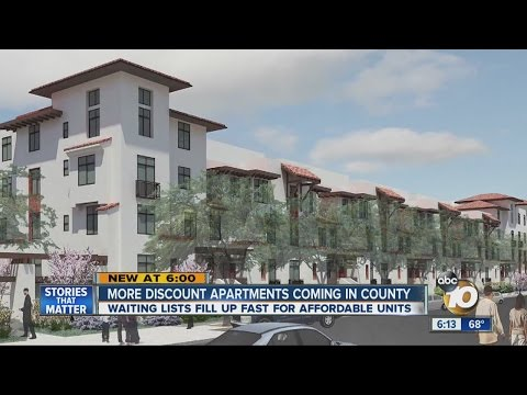 More discount apartments coming to San Diego