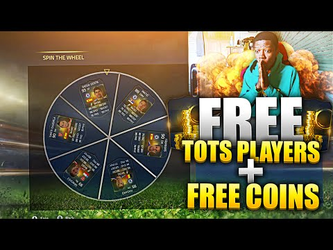 WOW FREE COINS & FREE TOTS PLAYERS !!!! SPIN THE WHEEL - NEW FIFA 16 GAME MODE ????