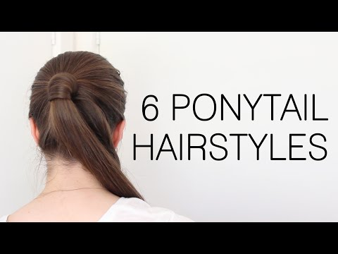 6 Quick and Easy Ponytail Hairstyles for School