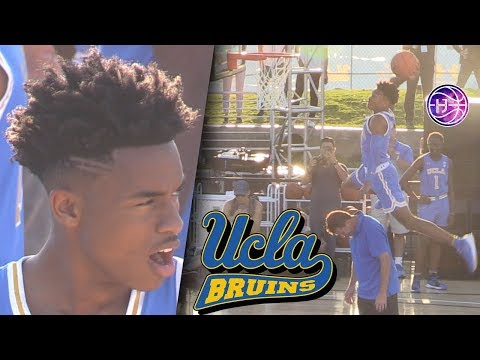 Jaylen Hands Dunk Contest For UCLA! PUTS on a SHOW in VENICE BEACH!