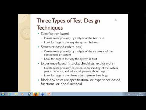 20  Test Analysis and Design