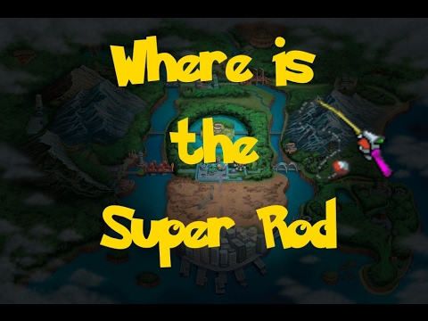 Where Is: The Super Rod (Pokemon Black 2/White 2)
