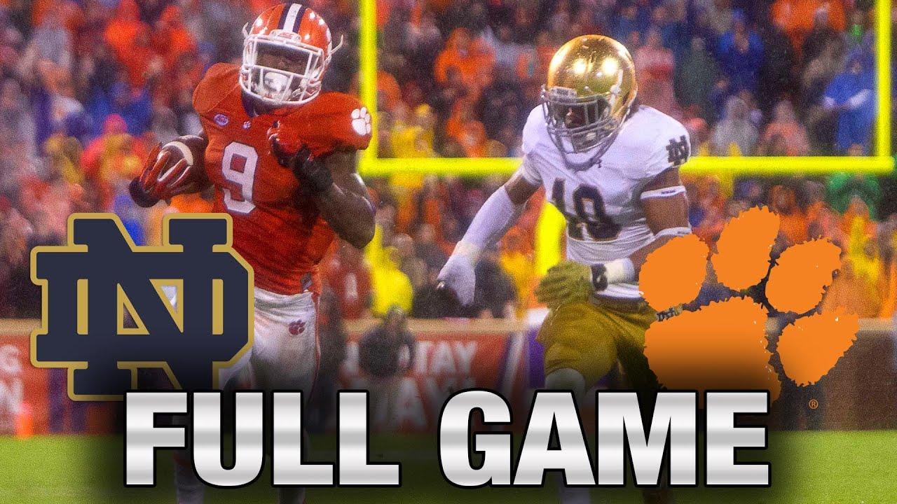 Instant Classic: Notre Dame vs. Clemson Full Game | 2015 ACC Football