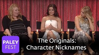 The Originals - Danielle Campbell, Leah Pipes, Joseph Morgan on Character Deaths and Nicknames