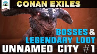 Conan Exiles - Swamp World Boss and Loot Chest Locations