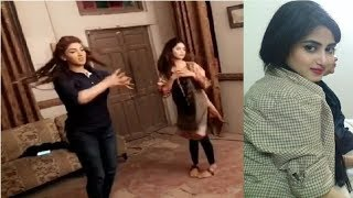 Sajal Ali and Sana Dancing on the sets of O Rangreza