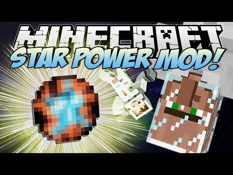 Minecraft | STAR POWER MOD! (Create Your Own STARS!) | Mod Showcase