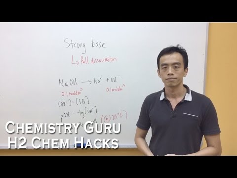 How to identify a Strong Acid and Strong Base - H2ChemHacks
