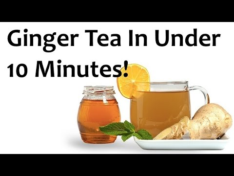How To Make Strong Ginger Root Tea In Under 10 Minutes