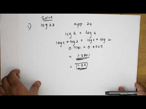 How to find log without log tables|Tricks and tips series for JEE|CBSE| NEET