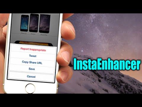 InstaEnhancer - iOS 8 Jailbreak Cydia Tweak