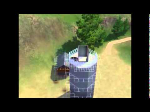 how to build a light house sims 3