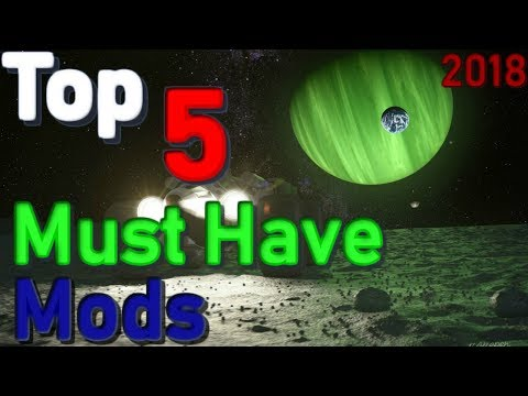 Top 5 Must have KSP Mods! (2018) and Installation Guide!