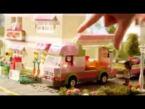 Camper - Lego Friends - TV Toy Commercial - TV Spot - TV Ad