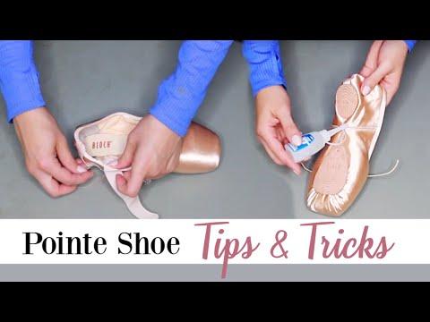 Pointe Shoe Tips & Tricks | Kathryn Morgan