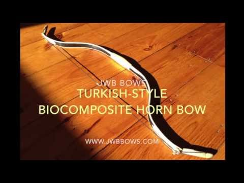 JWB Turkish-style Composite Horn Bow