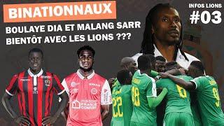 Infos Lions: la CAN 2021 et ses changements de date, les binationaux convoités par Cissé  #03