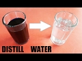 how to make distilled water at home using pressure cooker