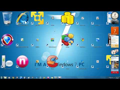 Windows 7 Tip: How to Have Custom-Sized Desktop Icons