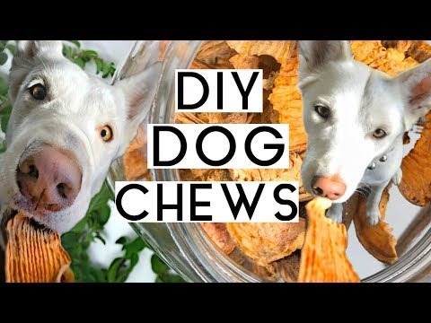3 DIFFERENT WAYS TO MAKE SWEET POTATO DOG CHEWS | Healthy + Easy