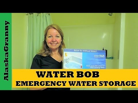 Water Bob Emergency Water Storage How to Use Water Bob