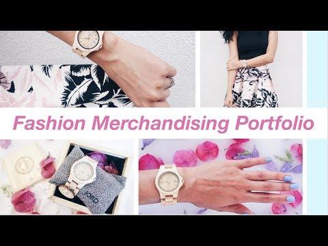How to Create a Fashion Merchandising Portfolio - I'm Back!