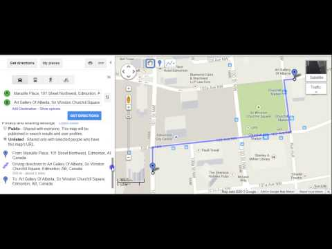Google Maps Step 3- My Maps & Multiple Destinations
