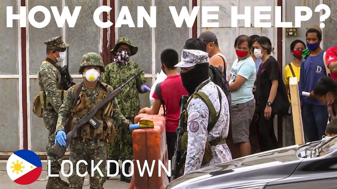 PHILIPPINES FULL LOCKDOWN Millions of Filipinos ordered to stay home COVID19 CORONA VIRUS