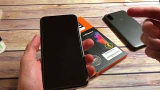 Spigen Tempered Glass Screen Protector For iPhone X Unboxing and Review