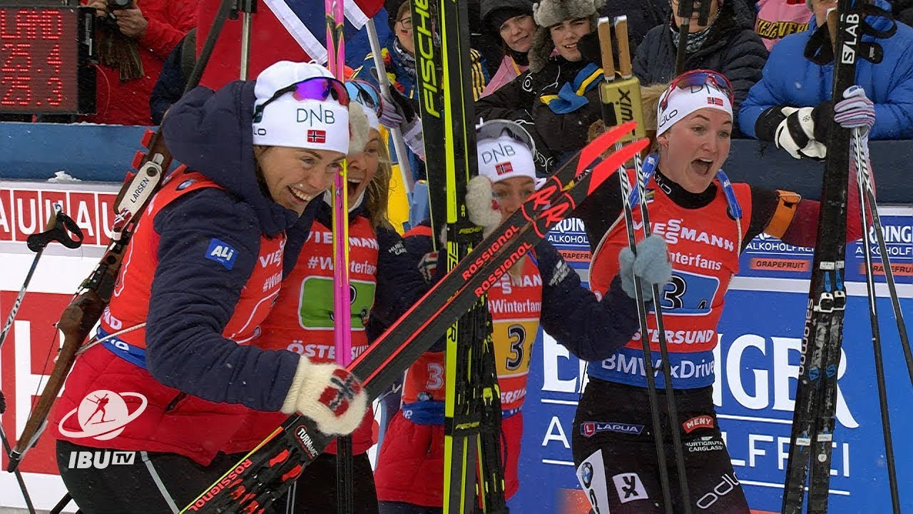 """#2019Ostersund Tandrevold: """"The boys now are nervous as they have to keep up with us"""""""