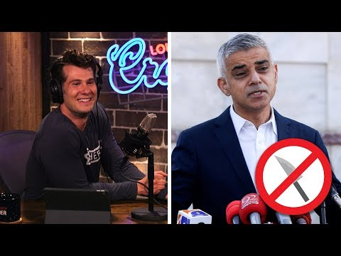 REAL LIFE: UK Demands KNIFE CONTROL! | Louder With Crowder