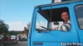 Thug Life Germany - Mann wirft LKW um