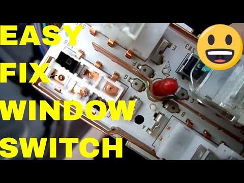 Pontiac Grand Prix Power Window and Power Mirror Switch,